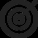Symbol einer Zielscheibe
